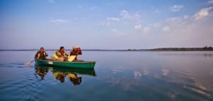 On the Lake at Satpura