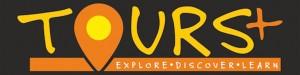 Tours+ Logo Black